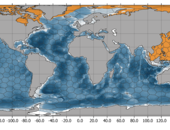 Marine species distribution along the NW-Pacific and the Arctic Ocean